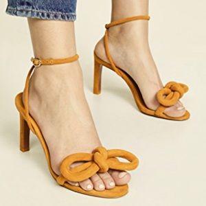 🔅host pick🔅ZIMMERMANN sculptural bow Heeled Sandals size 38